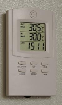 блок контроля температуры